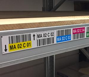 ONE2ID stellinglabels magneten magneetlabels magazijn