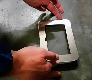 ONE2ID monteren vloerframes floor frames magazijn