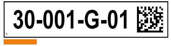 ONE2ID picklabel magazijn met 2D code