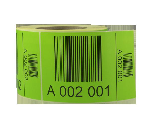 ONE2ID pallet stickers magazijn met barcode