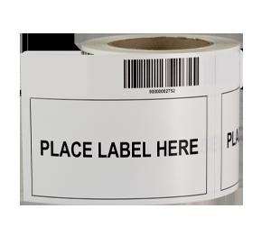 ONE2ID verwijderbaar etiket label adapter magazijn
