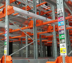 ONE2ID locatieborden magazijn stellingen