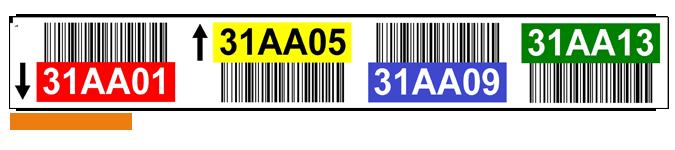 Magazijnlabels-stellinglabels-met-barcode-en-kleuren-ONE2ID