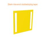 ONE2ID locatieborden magazijn ophangen dubbelzijdig tape
