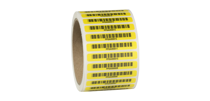 asset tags barcode labels ONE2ID