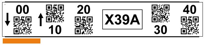 ONE2ID magazijnlabels stelling etiketten QR code