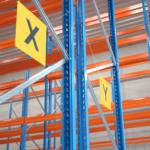 ONE2ID ophangen locatieborden magazijn stelling