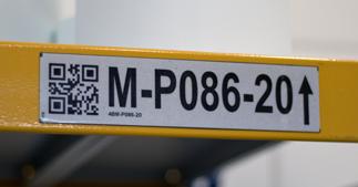 ONE2ID pickstelling etiketten retro reflective labels scannen