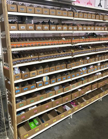 ONE2ID order picken scannen barcode kleurcodering magazijnlabels