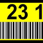 ONE2ID magazijnlabels met kleur en barcode