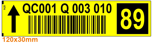 ONE2ID orderpicken barcode labels voicepicking