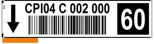 ONE2ID picklocatie etiketten check digits barcode magazijn