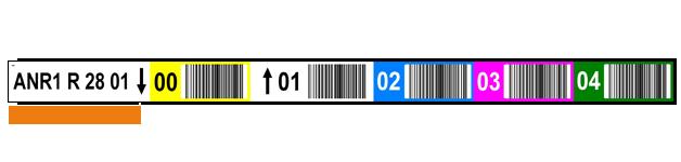 ONE2ID barcode etiketten magazijnlabels scannen kleuren
