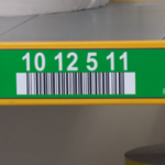 ONE2ID labels pallet racking warehouse barcode