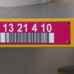 ONE2ID rack labels long range scanning warehouse