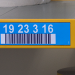ONE2ID colour-coded warehouse labels
