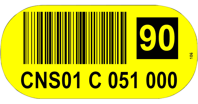 ONE2ID floor label floor marking warehouse