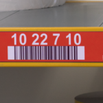 ONE2ID rack labels warehouse pallet racking colour