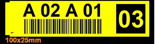 ONE2ID etiketten stickers order picken check digits voice picking