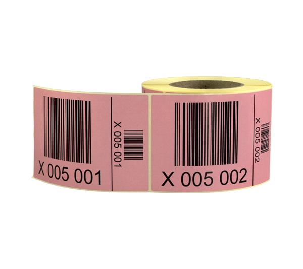 ONE2ID sequential numbers barcode labels