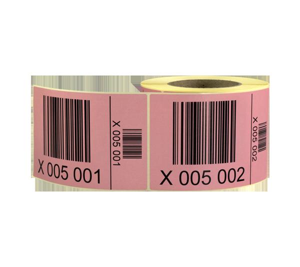 ONE2ID magazijnlabels palletlabels serienummers barcodes