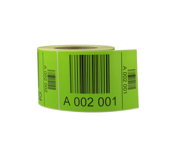 ONE2ID pallet ID warehouse labels serial numbers