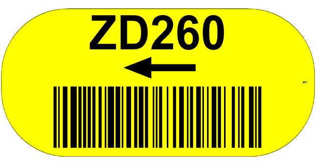 ONE2ID magazijnlabels vloerlabels vloeridentificatie