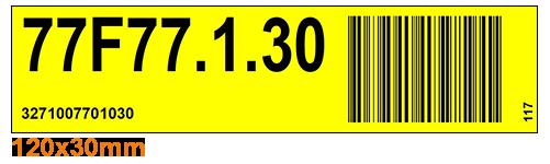 ONE2ID Etiketten order picken magazijnlabels