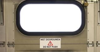 ONE2ID magnetische etiketten magazijnlabels waarschuwingsstickers laaddeur