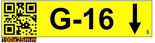 ONE2ID Etiketten legbordstellingen order picken QR code