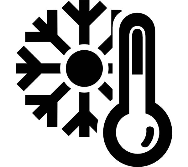 ONE2ID Freezer labels gekoeld magazijn diepvriesmagazijn koelcel