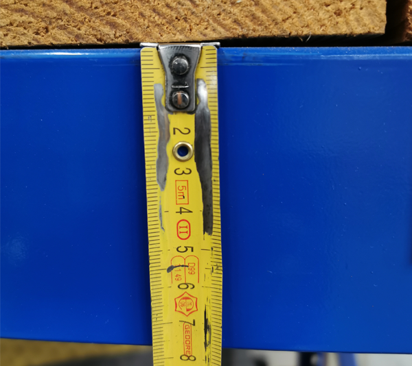 ONE2ID Color-coded barcode labels for beams and uprights