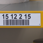 ONE2ID Color-coded warehouse labels barcode scanning