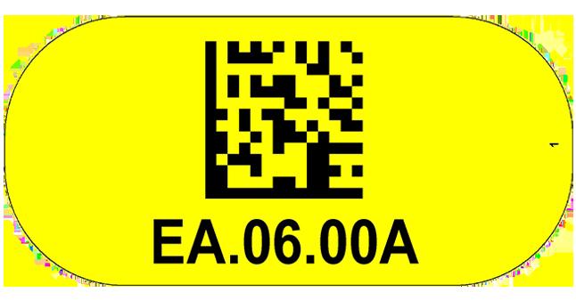 ONE2Id Economy floor labels warehouse floor identification