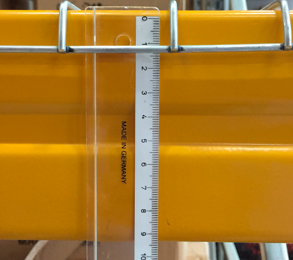 ONE2ID Fall protection pallet racking warehouse