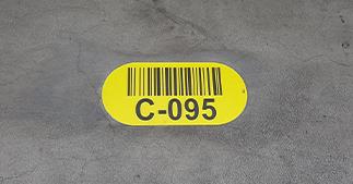 ONE2ID Floor label warehouse floor marking