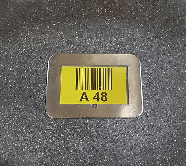 ONE2ID Floor marking floor frames warehouse