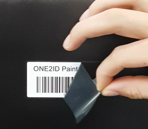 ONE2ID Laminated labels powder coating plating wet painting