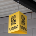 ONE2ID Locations signs warehouse QR code scanning