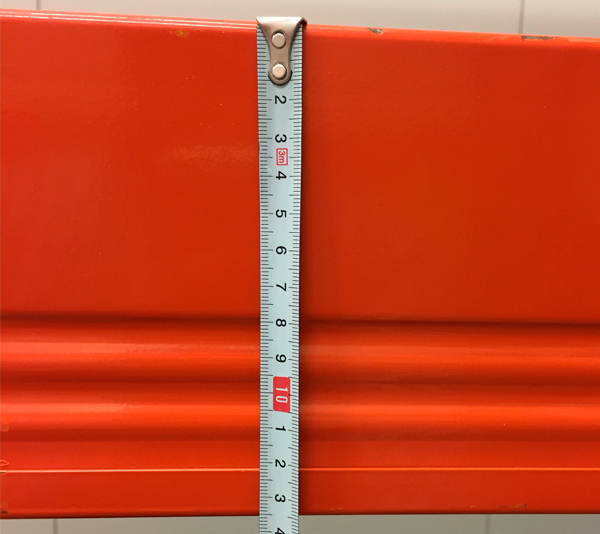 ONE2ID Pallet beams labels