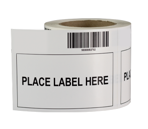 ONE2ID Removable labels label adapter bins krates racks shelves