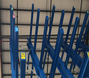 ONE2ID Warehouse cantilever rack labels