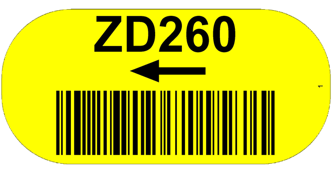 ONE2Id Warehouse floor barcode labels bulk storage