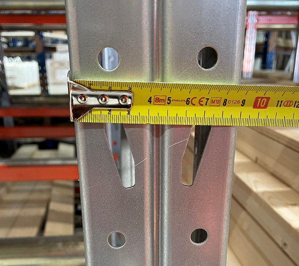 ONE2ID Warehouse labels pallet racking uprights