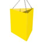 ONE2ID Bulk storage warehouse sign triangle scanning
