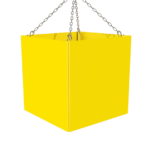 ONE2ID Locatieborden magazijn hal zone kubus vierkant