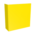 ONE2ID Magazijnbord gangpad dubbelzijdig stellingbord