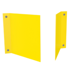 ONE2ID Warehouse signs V-sign aisle rack sign