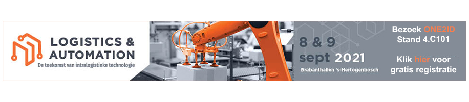 ONE2ID magazijnlabels vakbeurs logistics and automation
