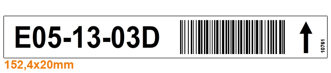 ONE2ID Warehouse labels bin labels rack and shelf labels